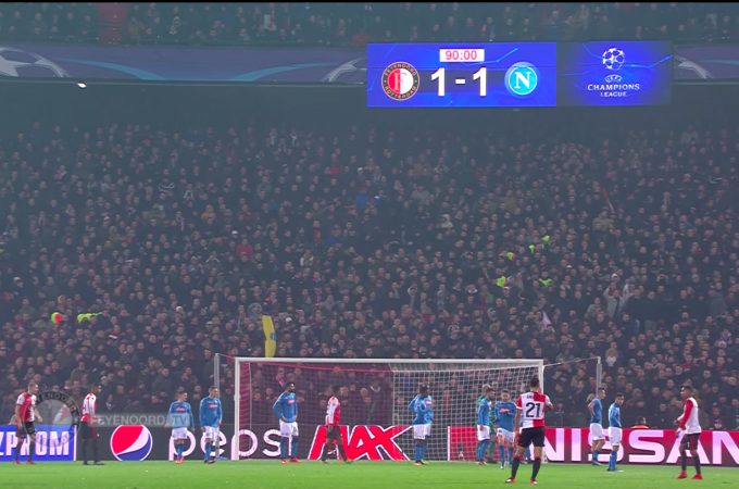 Feyenoord - Napoli.
