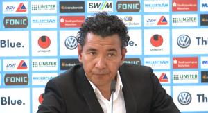 Ricardo Moniz, TSV, pressekonferenz