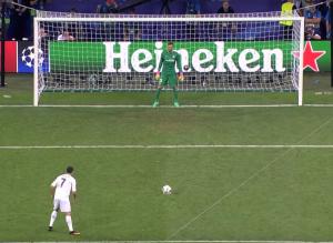 Ronaldo neemt de laatste penalty in het CL-seizoen 2015/16