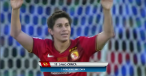 Conca in actie op het WK voor clubteams, 2013